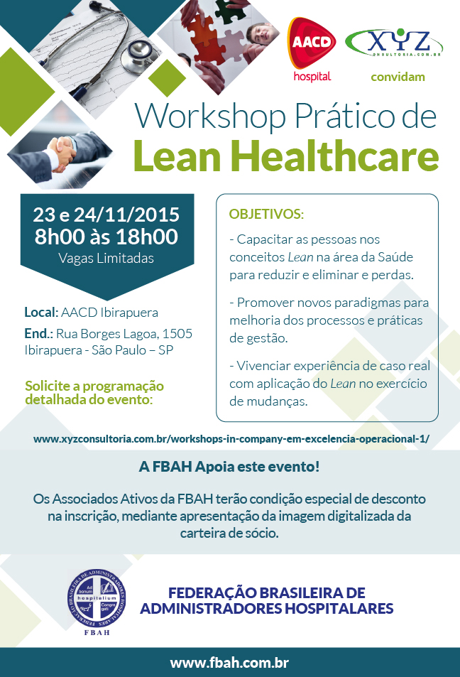 Workshop Prático de Lean Healthcare